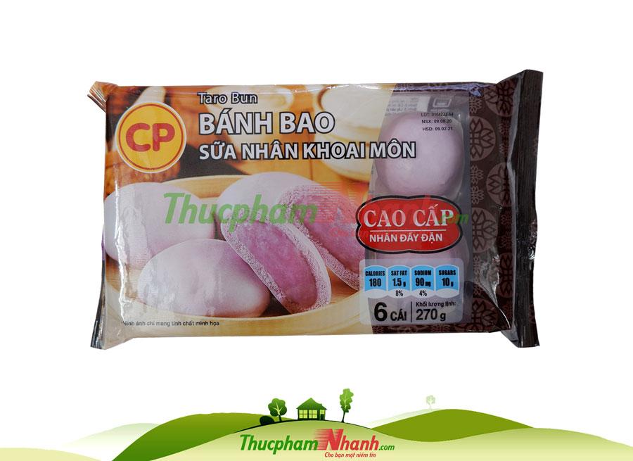Banh Bao Sua Khoai Mon