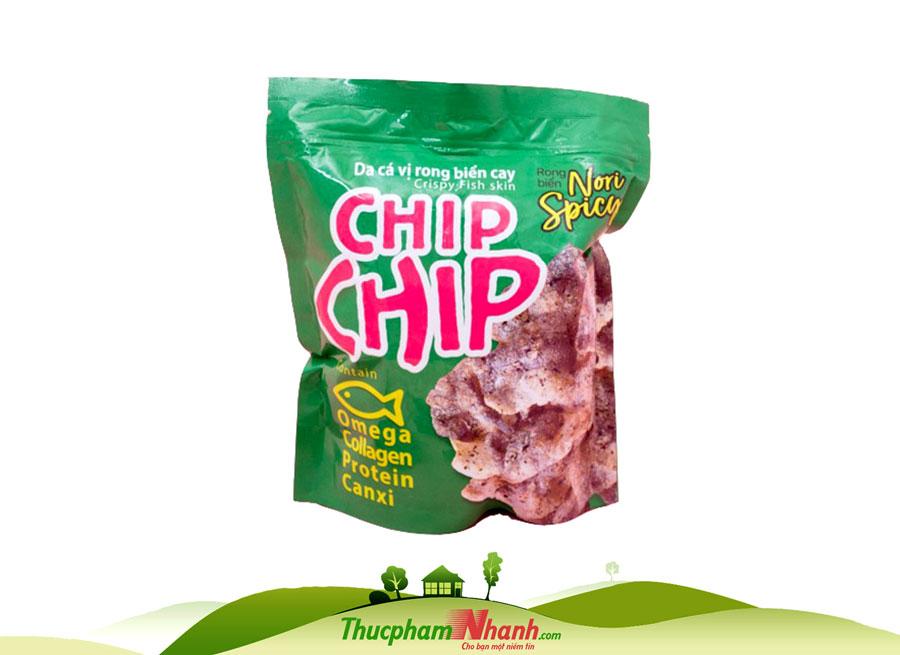 Da cá vị rong biển cay Chip Chip