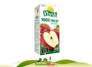 Nước táo Vfresh hộp 1L