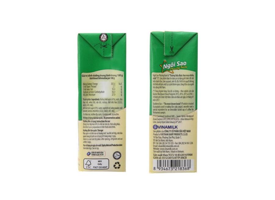 Sữa đặc Ngôi Sao Phương Nam hộp giấy - 1 lít1