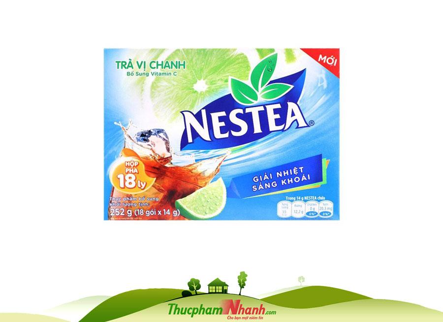 Trà Nestea Chanh - Hộp 18 gói