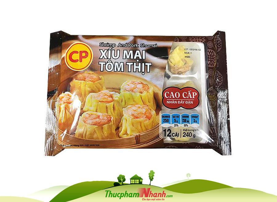 Xiu Mai Tom Thit Cp 240g