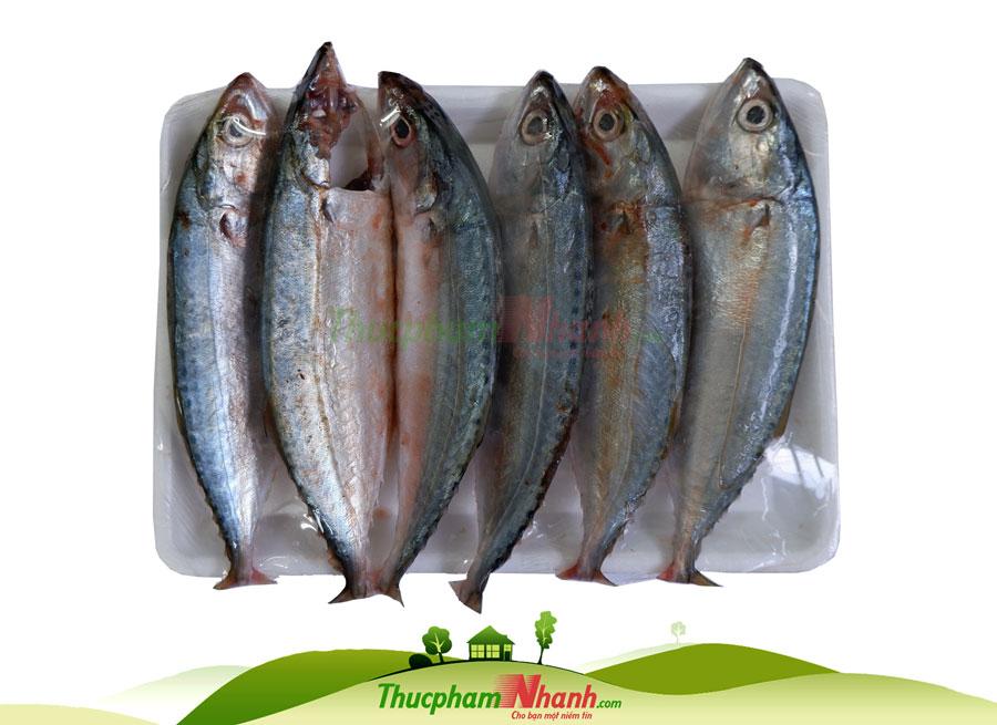 Cá bạc má tươi làm sạch cấp đông
