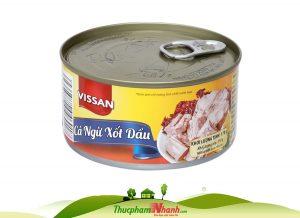 Cá ngừ xốt dầu Vissan Hộp 170g