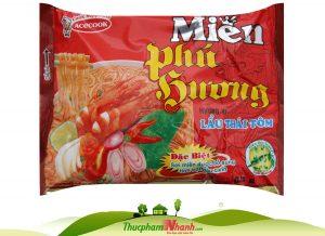 Miến Phú Hương ăn liền vị lẩu thái tôm