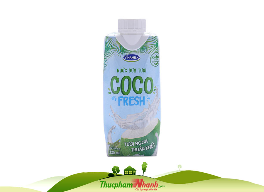 Nước dừa tươi Vinamilk - Hộp 330ml