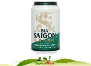Bia Saigon Lager Lon 330ml