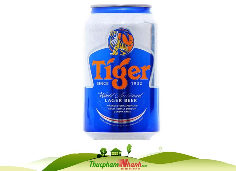 Bia Tiger Lon 330ml