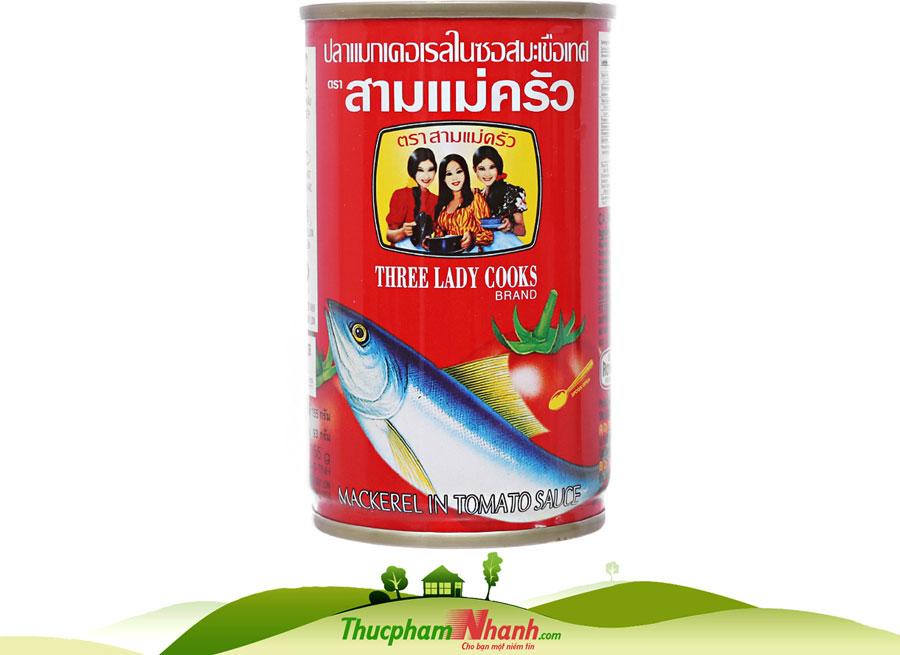 Cá nục sốt cà 3 Cô Gái