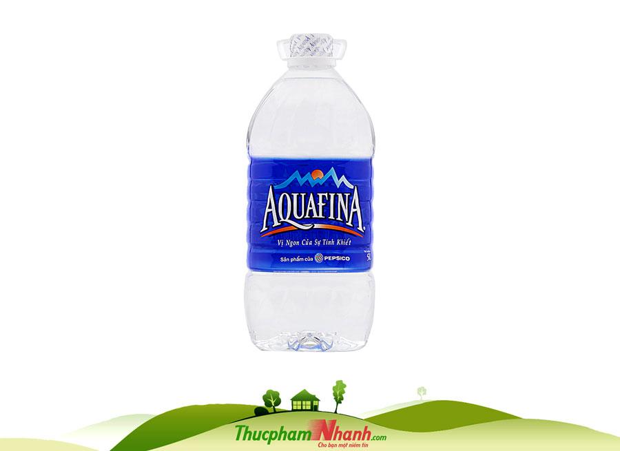 Nước khoáng thiên nhiên Aquafina bình 5 lít