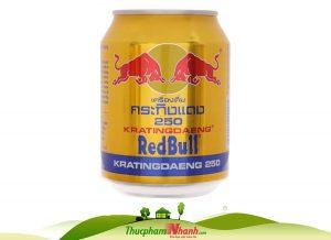 nước tăng lực redbull Thái lon 250ml