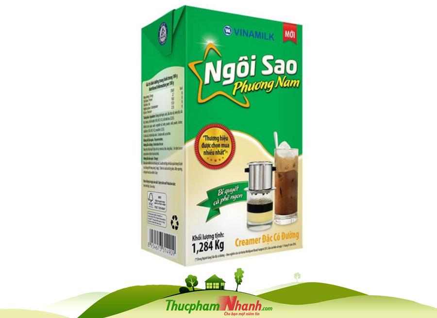 Sữa đặc ngôi sao Phương na hộp giấy 1.2kg