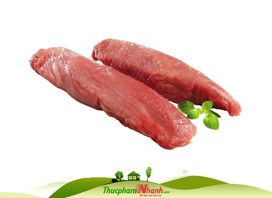 Thịt thăn chuột heo