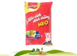 Xúc xích tiệt trùng dinh dưỡng DHA Vissan heo - Gói 35g