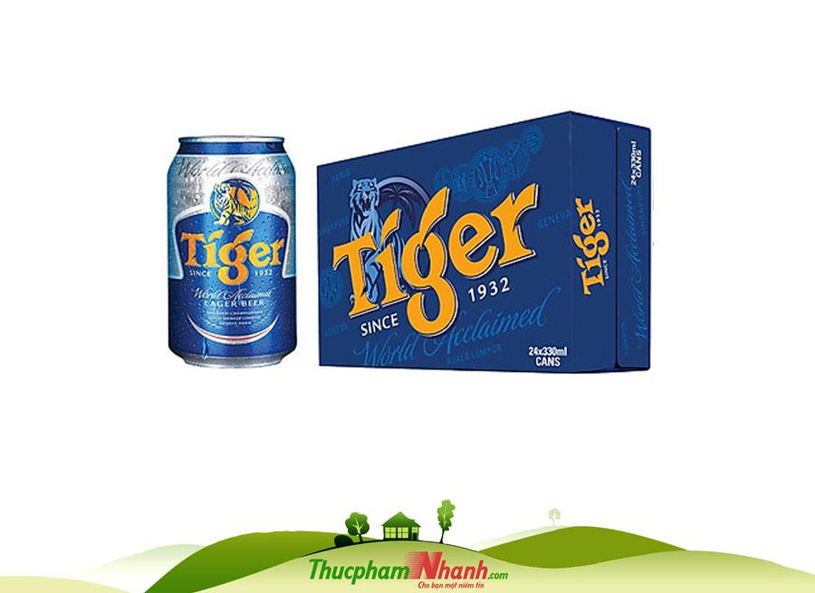 Bia Tiger Thùng 24 Lon