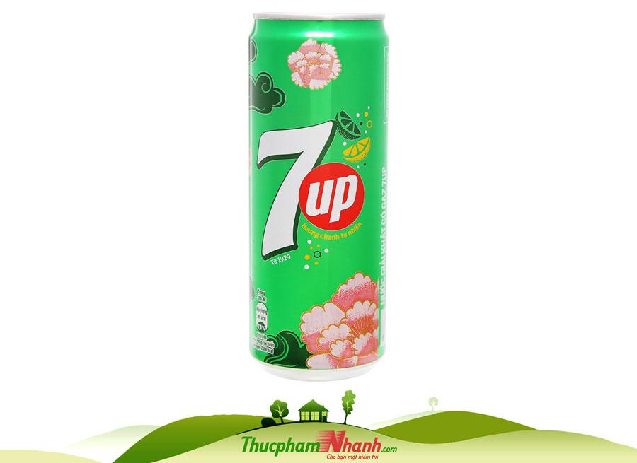 Nước ngọt 7up - lon 330ml