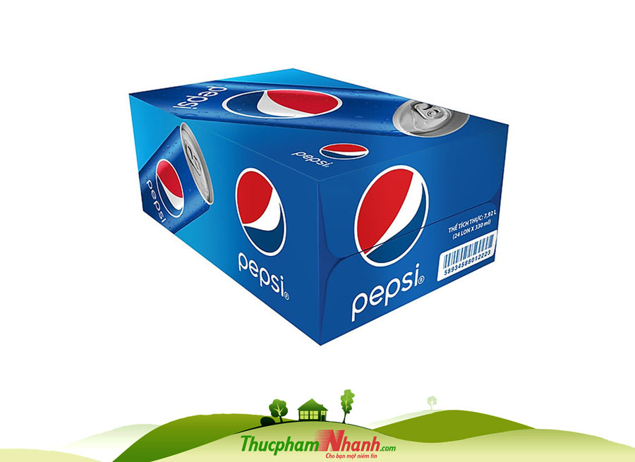 Pepsi Thùng 24 Lon
