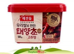 Sốt tương ớt Gochujang Hàn Quốc - Hộp 500g