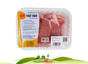 Thit Cot Let Heo Co Xuong Cp Khay 300g