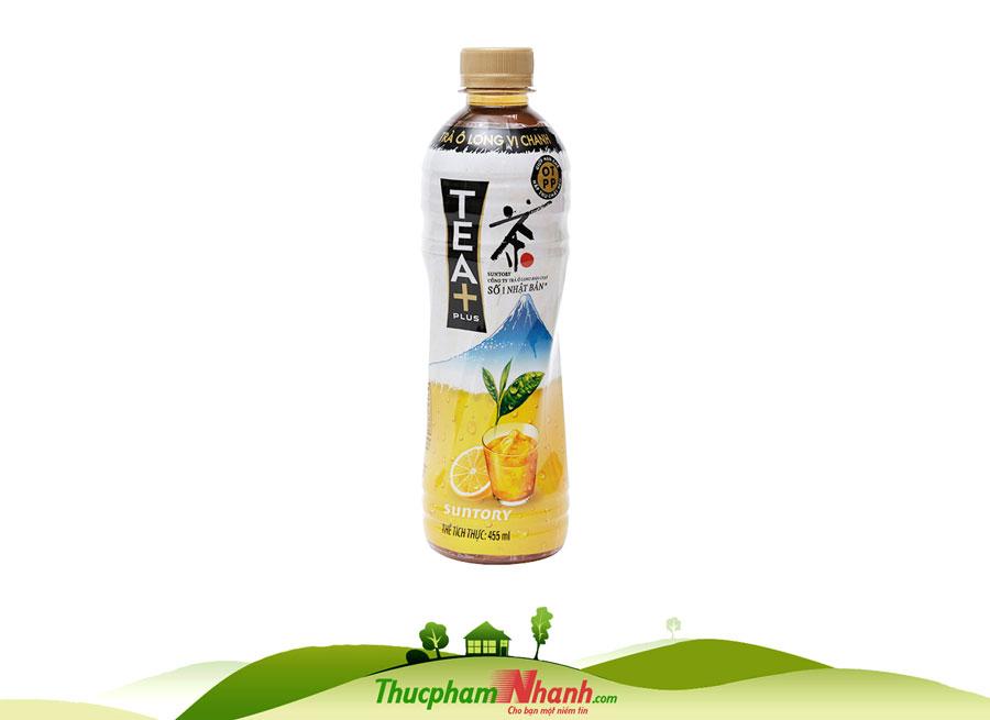 Trà Ô Long Tea Plus Vị Chanh - Chai 455ml