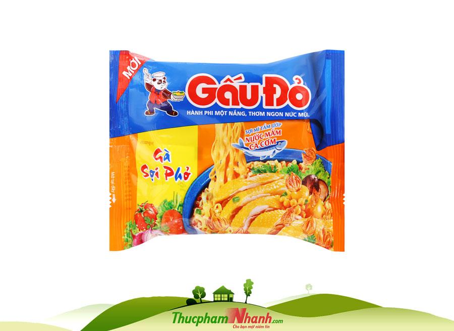Mi Tom Gau Do Ga Soi Pho Goi 63g