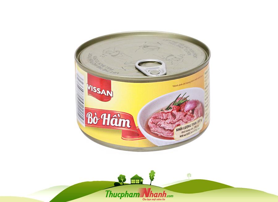 Bo Ham Vissan Hop 397g
