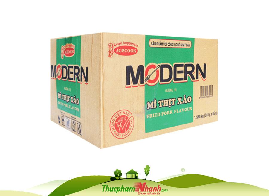 Mi Ly Modern Vi Thi Xao 65g Thung 24 Ly