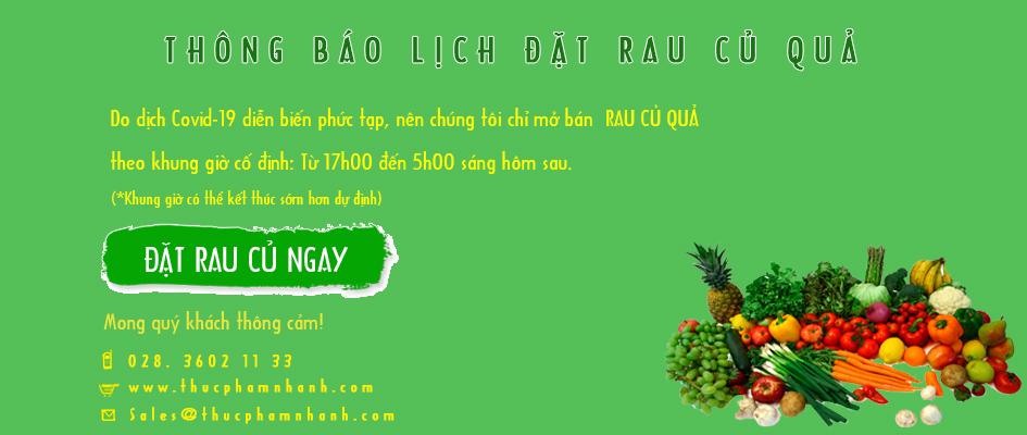 Dat Rau Cu Qua Covid Banner