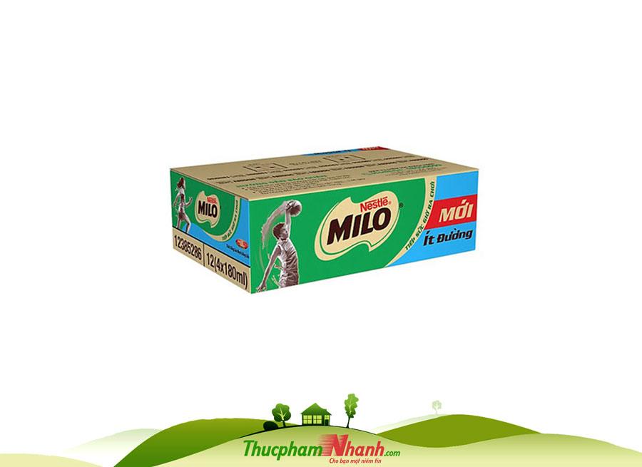 Sua Milo Lua Mach Thung 24 Hop